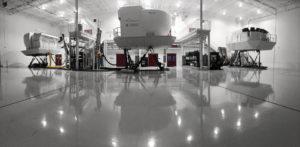 Simulator Bay - King Air 350 sim, Caravan 208 sim, and Dash 8 sim