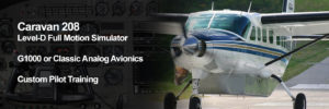 208 Custom Courses with G1000 or Classic Avionics