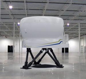 New King Air 350/200 G1000 Level-D Simulator - Exterior