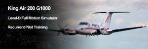 King Air 200 G1000 Recurrent Pilot Training