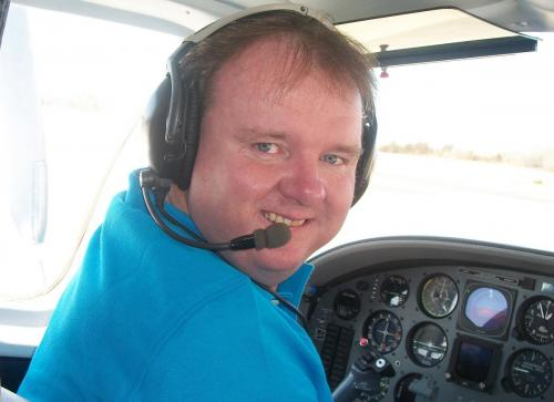 Able Flight Pilot Randy Green Cockpit
