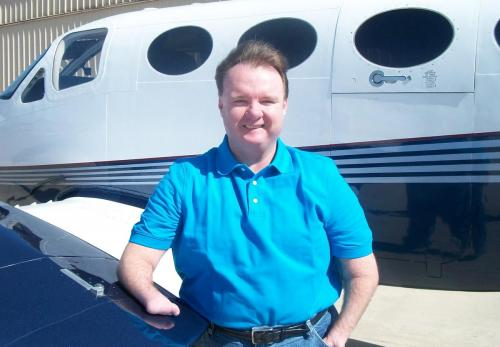 Able Flight Pilot Randy Green Planeside