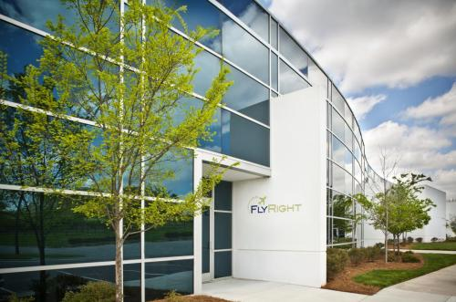 FlyRight Training Center Exterior