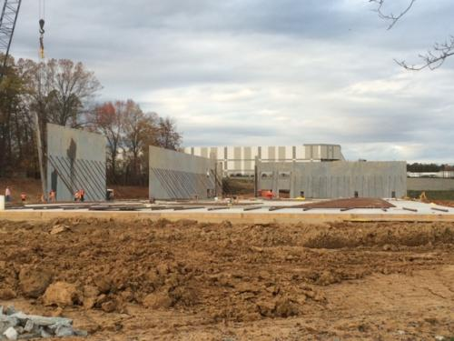 New Training Center  2016 - Walls 1