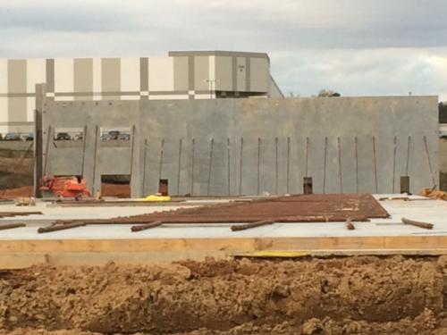 New Training Center  2016 - Walls 3