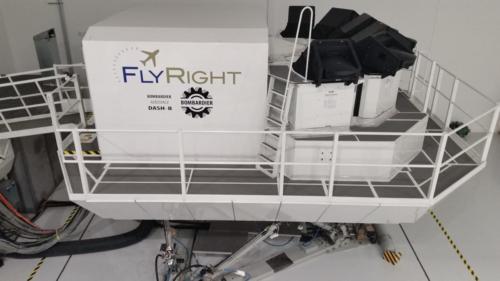 Bombardier Dash 8 Level-C - Exterior Overhead