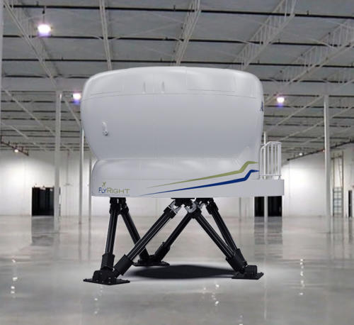 New King Air 350/200 G1000 Level-D Simulator – Exterior